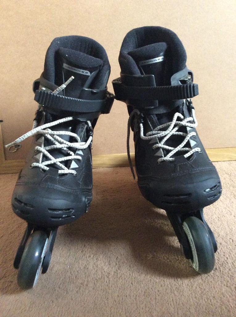 Inline skates UK4/Eur 36 , & protective pads set