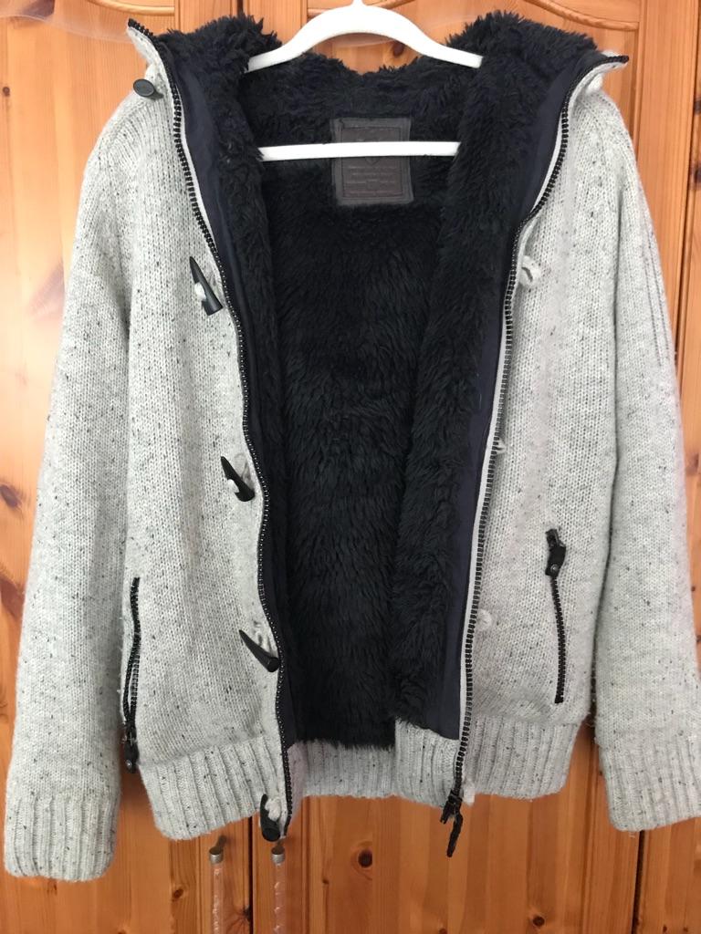 Men's jacket (hooded)
