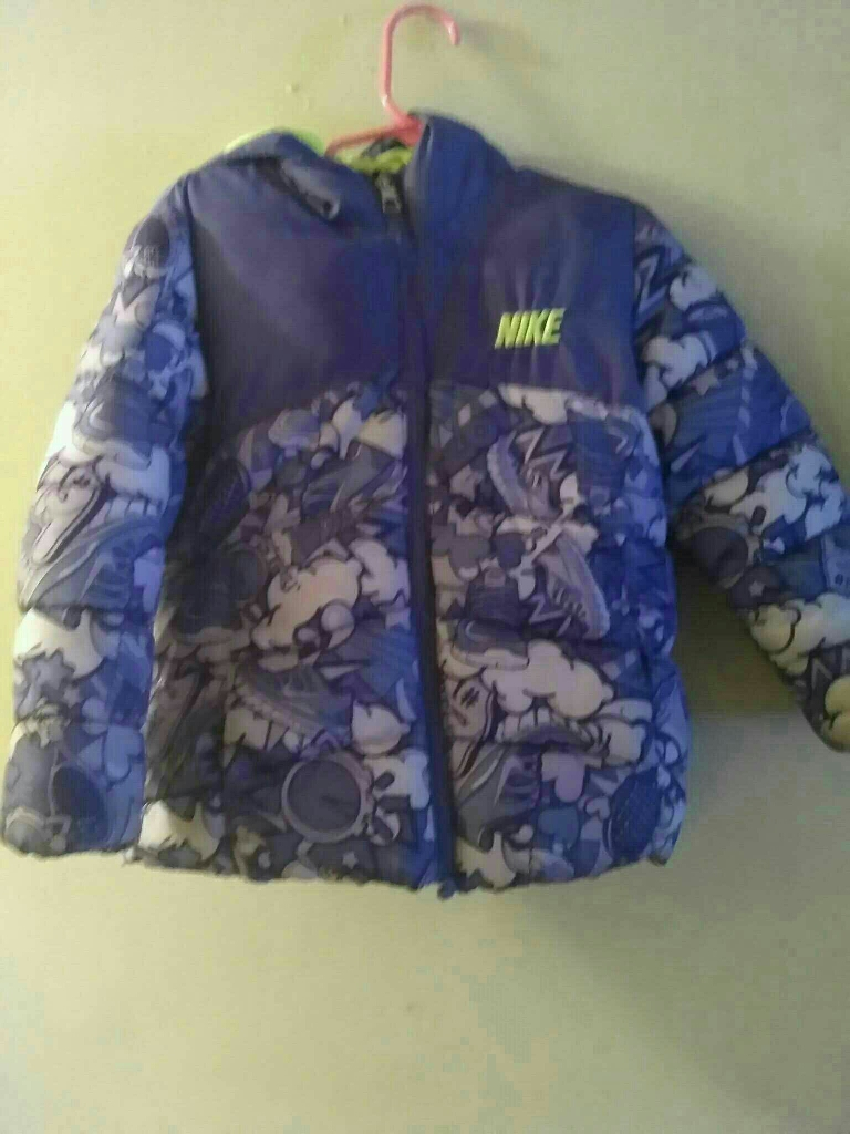 Toddler girl Nike puff coat