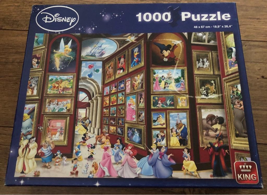 King Disney Princesses Puzzle 1000 pieces.
