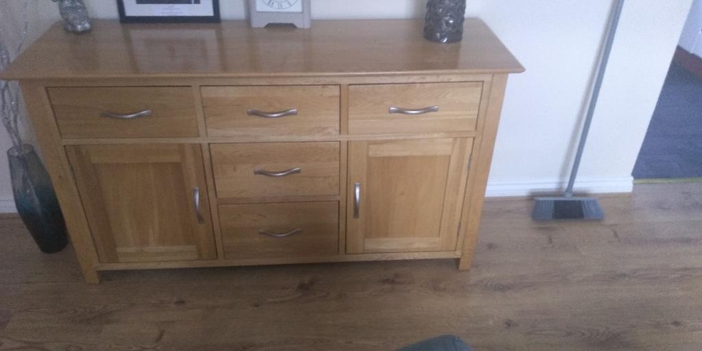 Real oak furniture