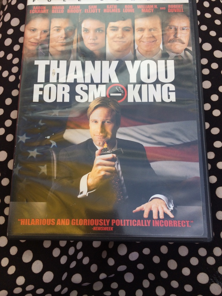 Thankyou for Smoking DVD