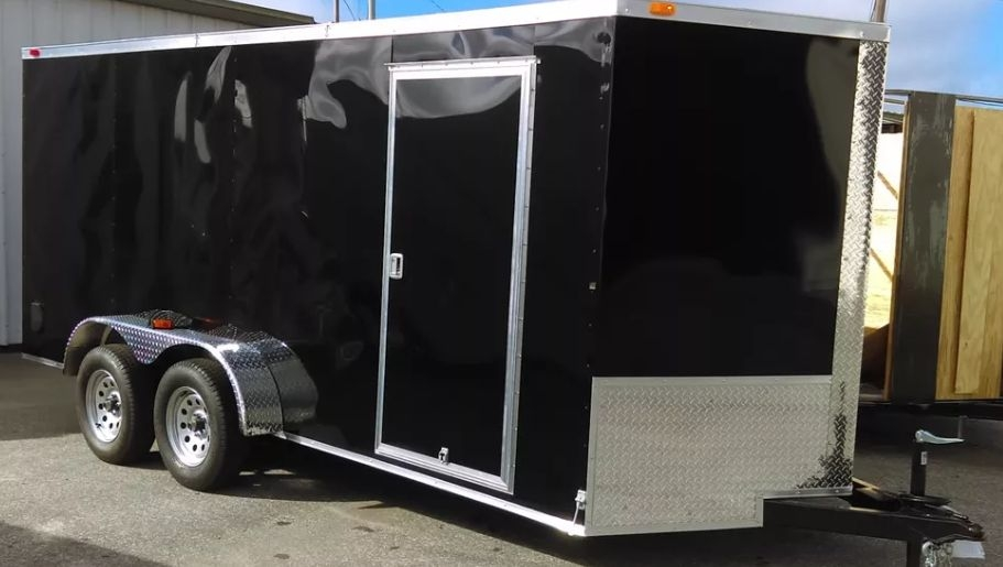 7X16 Custom Made Cargo Trailers. Financing Available.