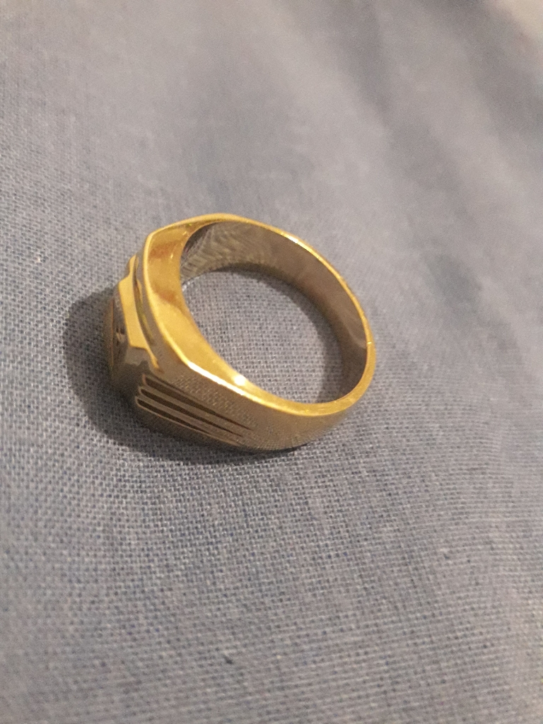 Heavy nice pure gold ring
