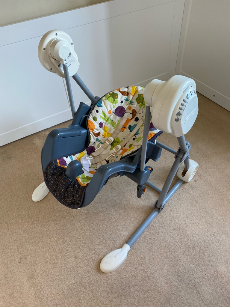 Fisher-Price Swing to High Chair