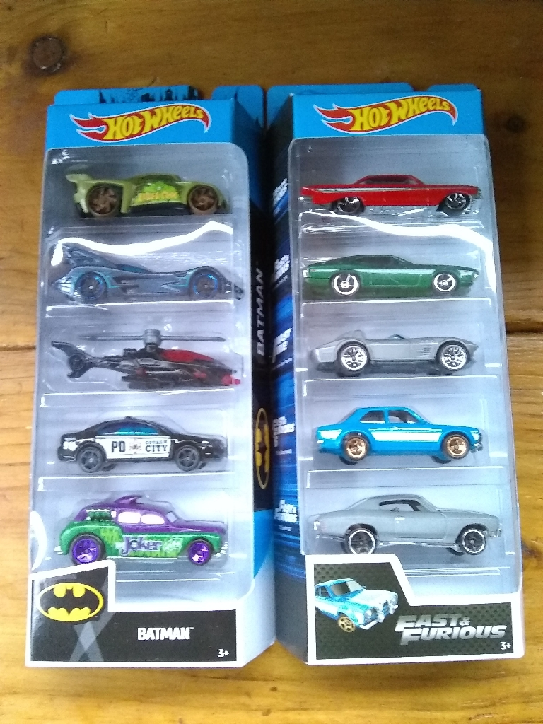 Hotwheels Sets Of 5
