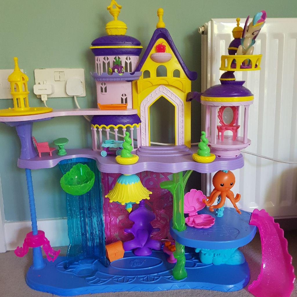 My little pony seaquestria castle