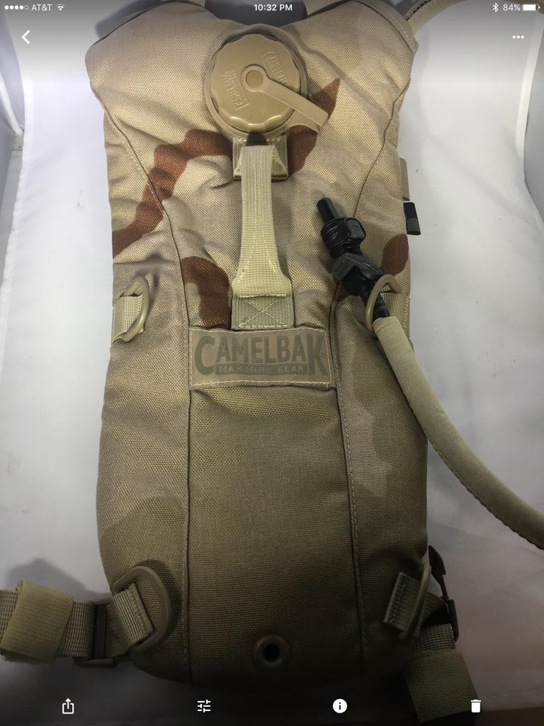 Desert Camo Camelback