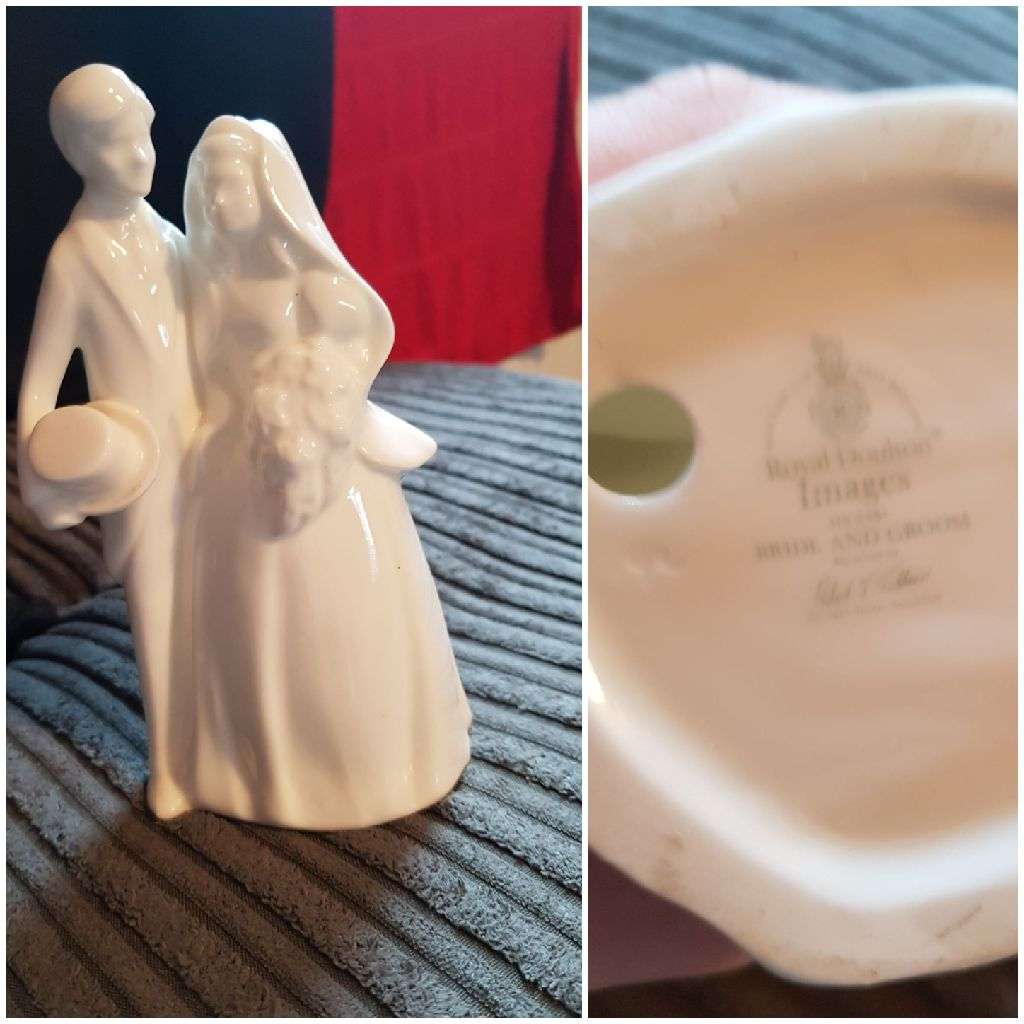 Royal Doulton Bride and Groom