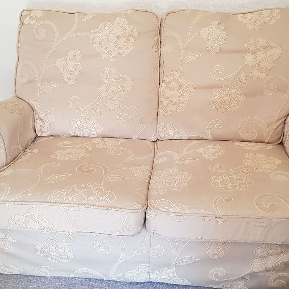 2x Parker Knoll two seater sofas