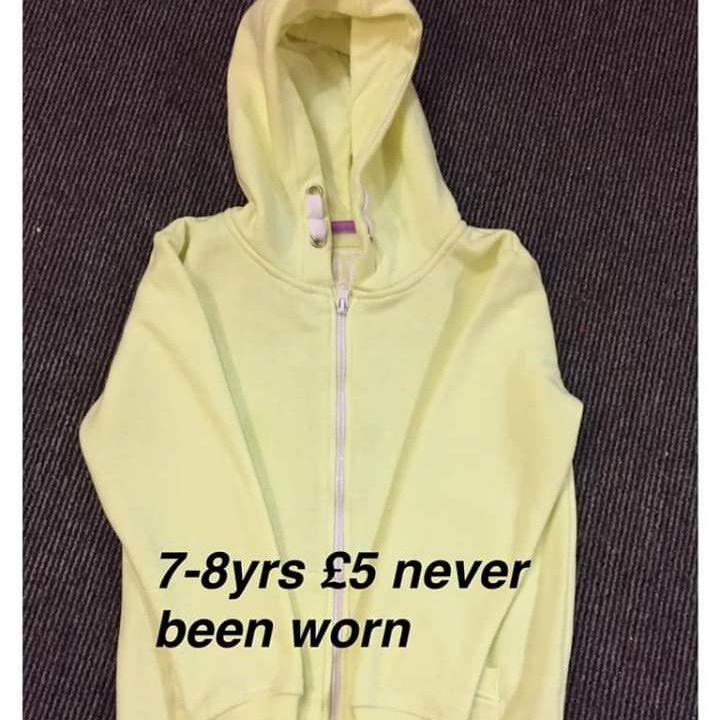 Girls jacket 7-8yrs