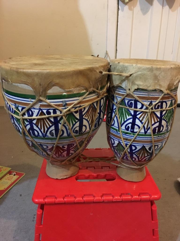 Bongo ceramics drum
