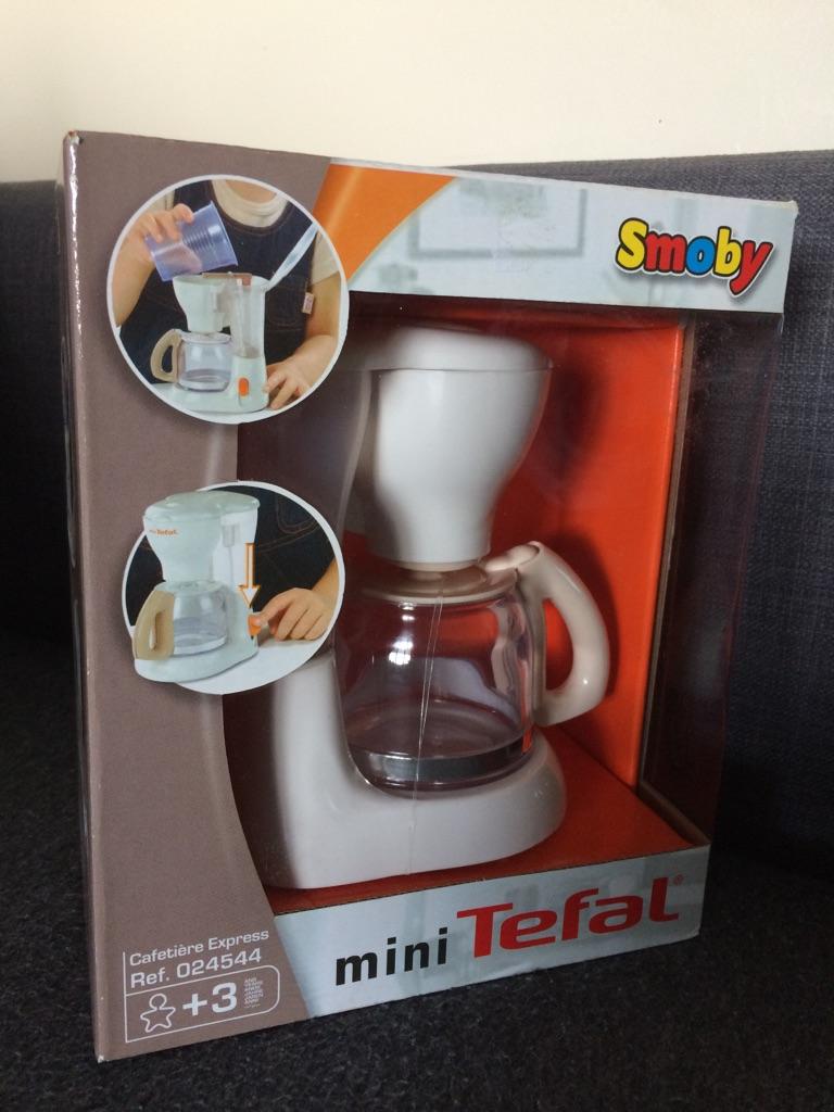 Tefal toy coffee machine