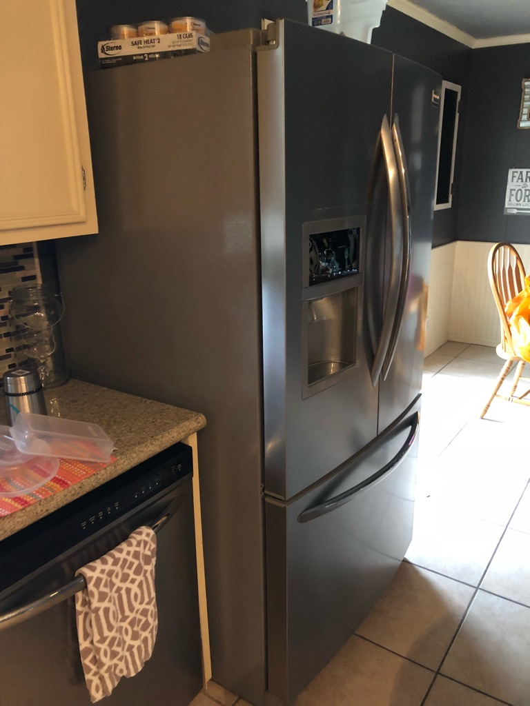 Frigidaire energy star stainless steel