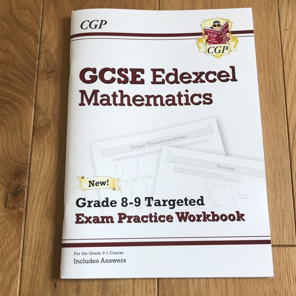 GCSE MATHS EDEXCEL 8-9 WORKBOOK