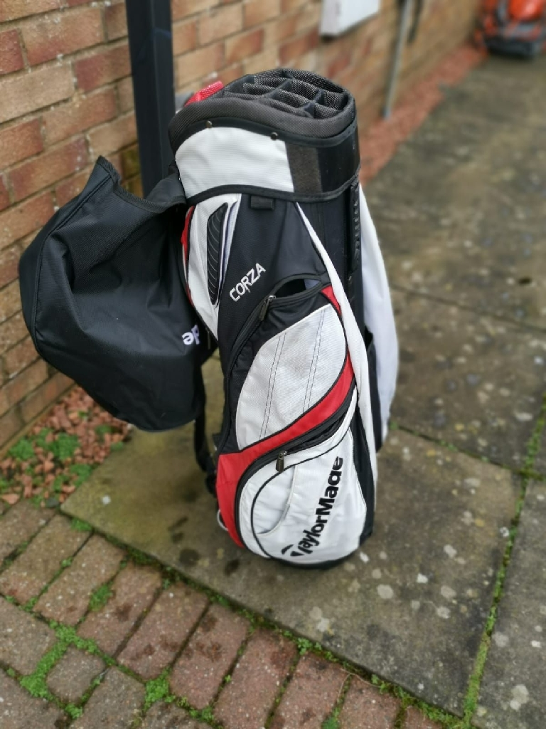 Taylormade Trolley Golf Bag and Club
