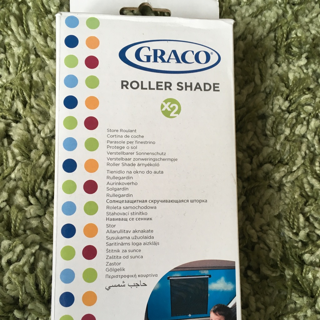 Graco window roller shade