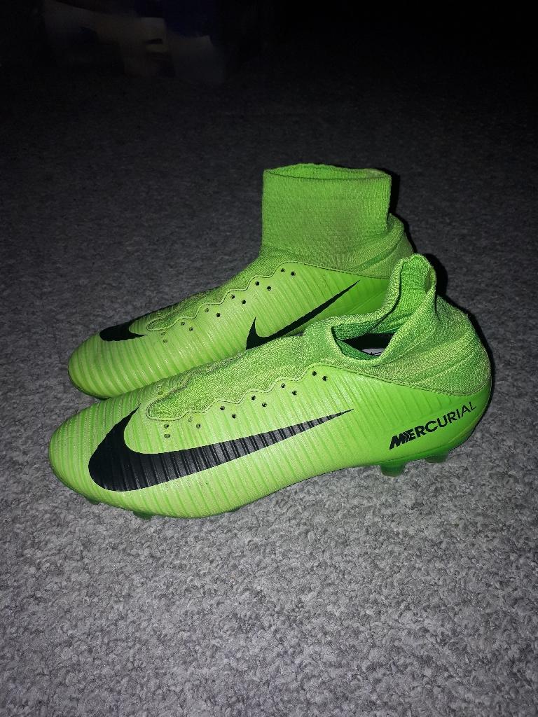 Football boots (Mecurials).