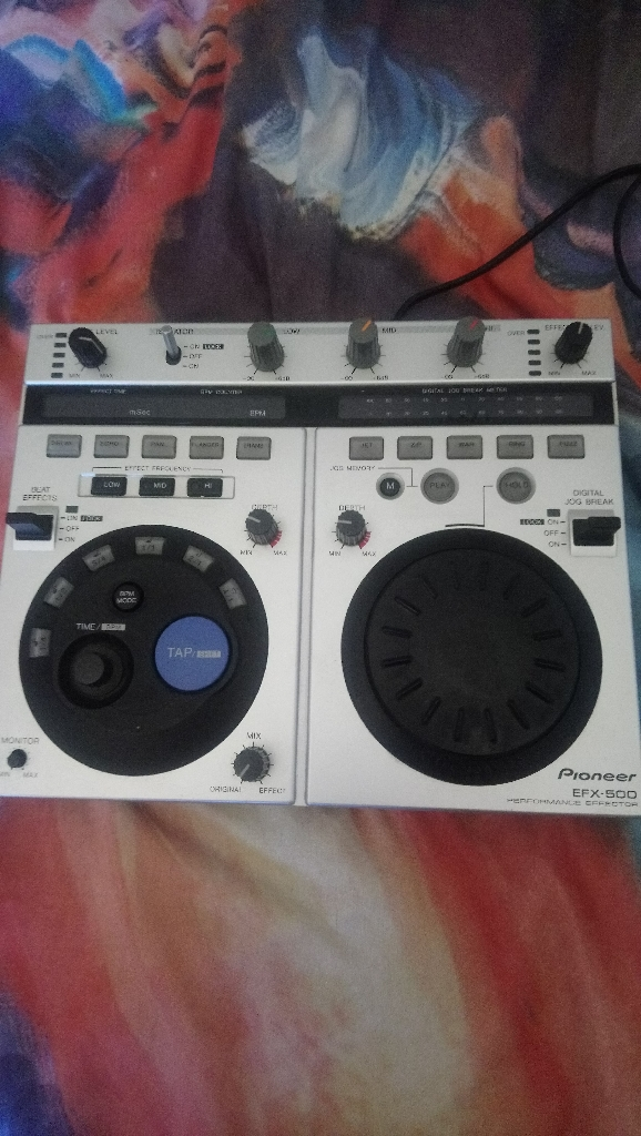 Pioneer fx500 special effects DJ box £50