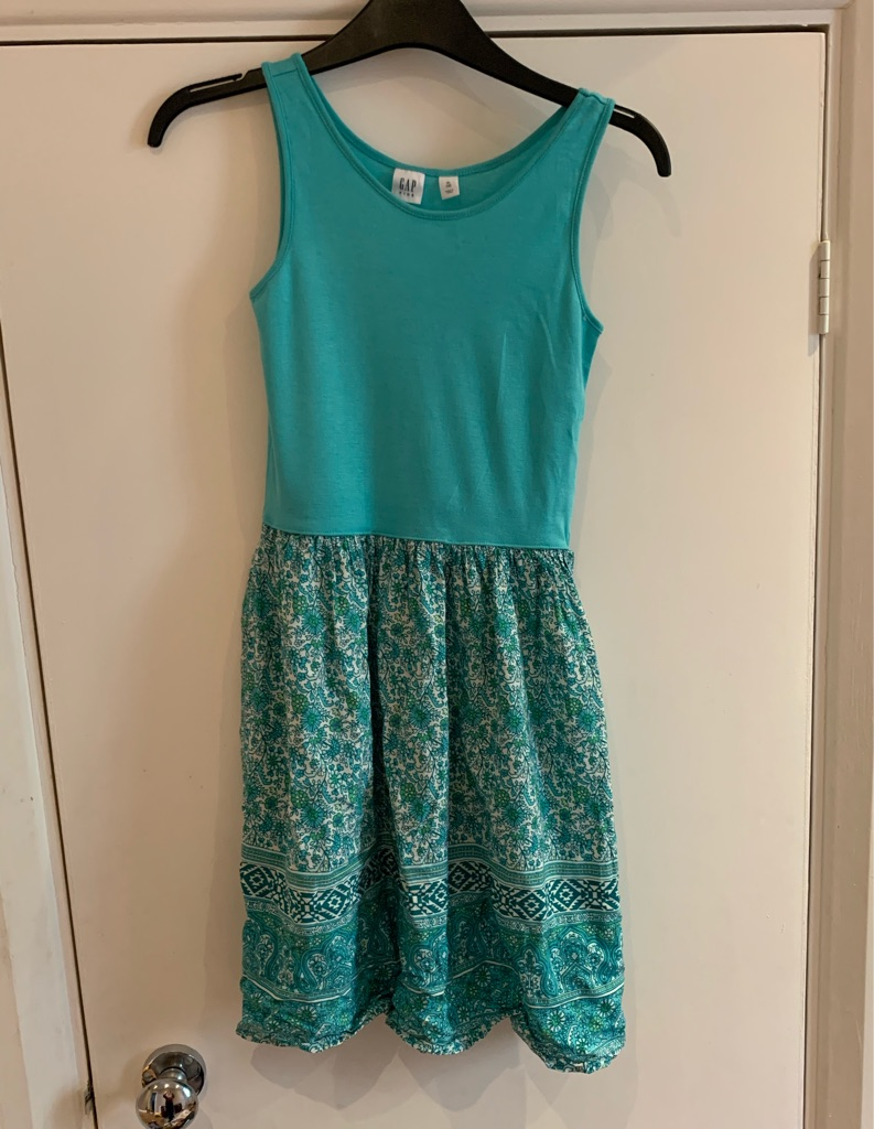 Green gap dress