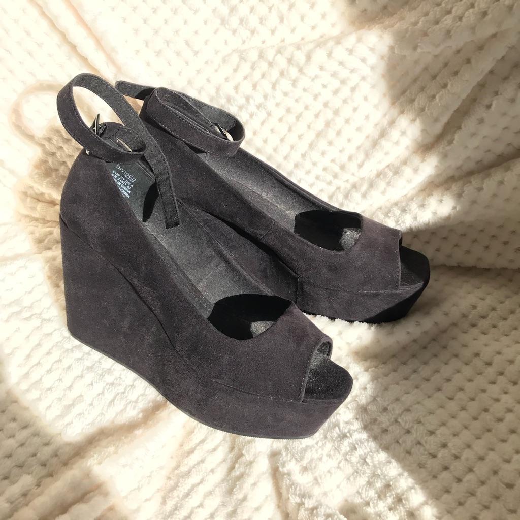 H+M platform heels