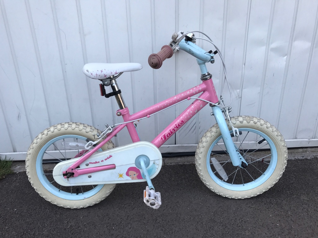 Girls bike age 5
