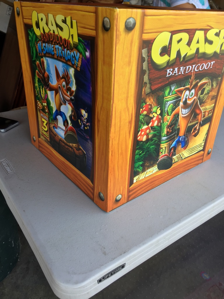 Crash Video Game Box