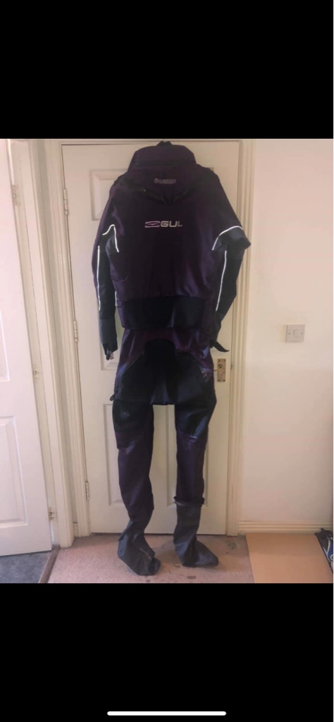 Gul dry suit large