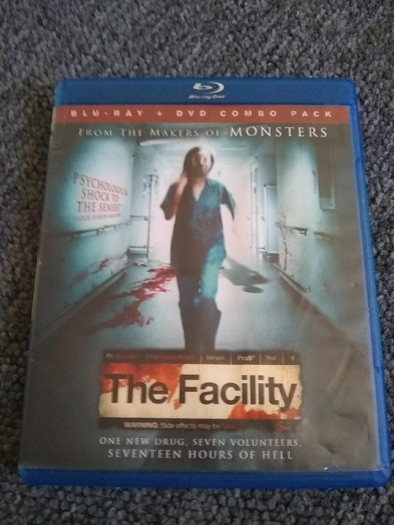 """The Facility"" Blu-ray + DVD"