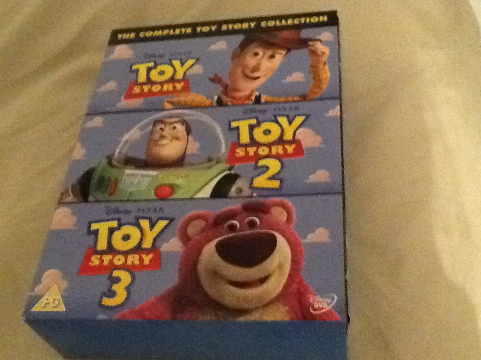 Toy Story 1, 2 and 3 box set