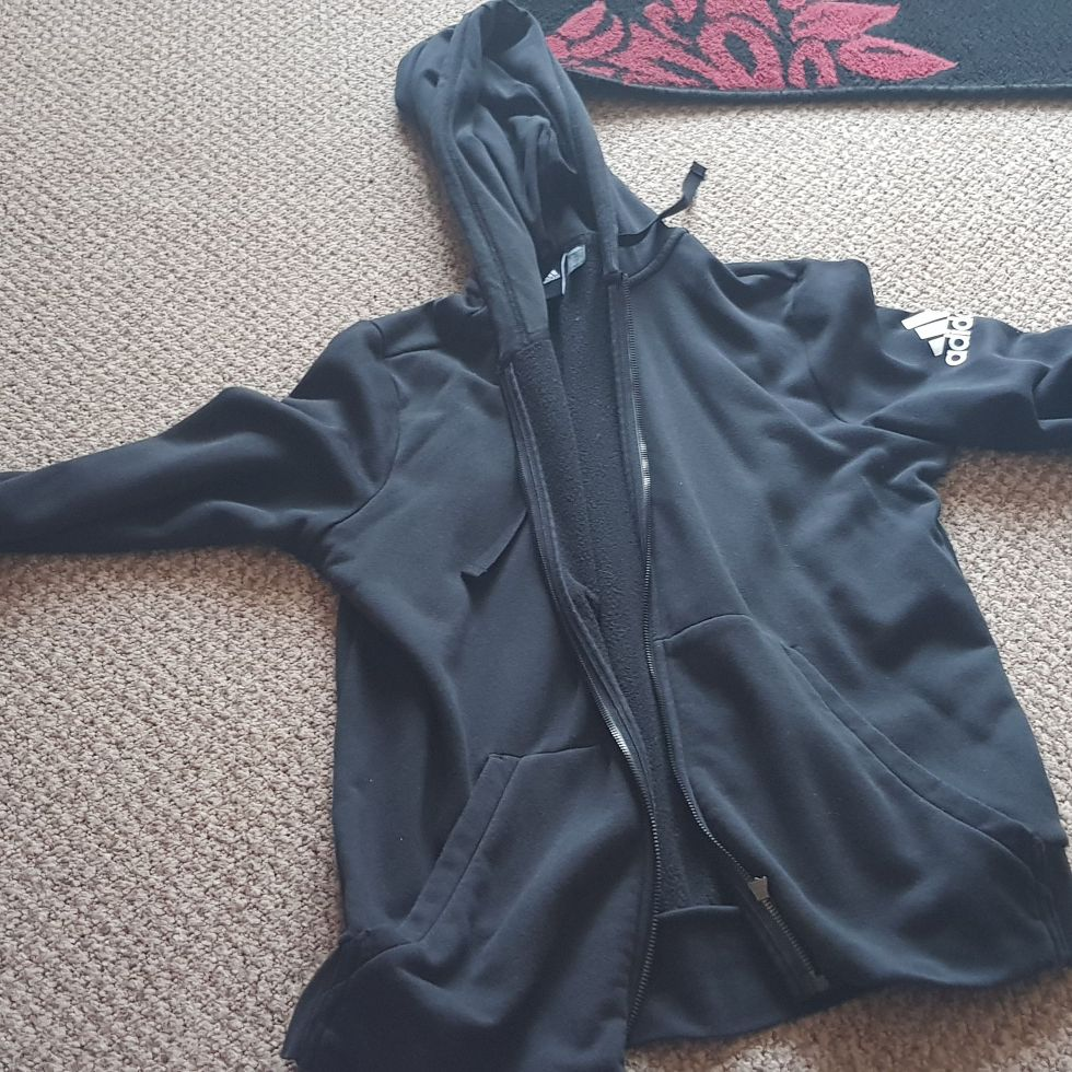Ladies addidas jacket size XL
