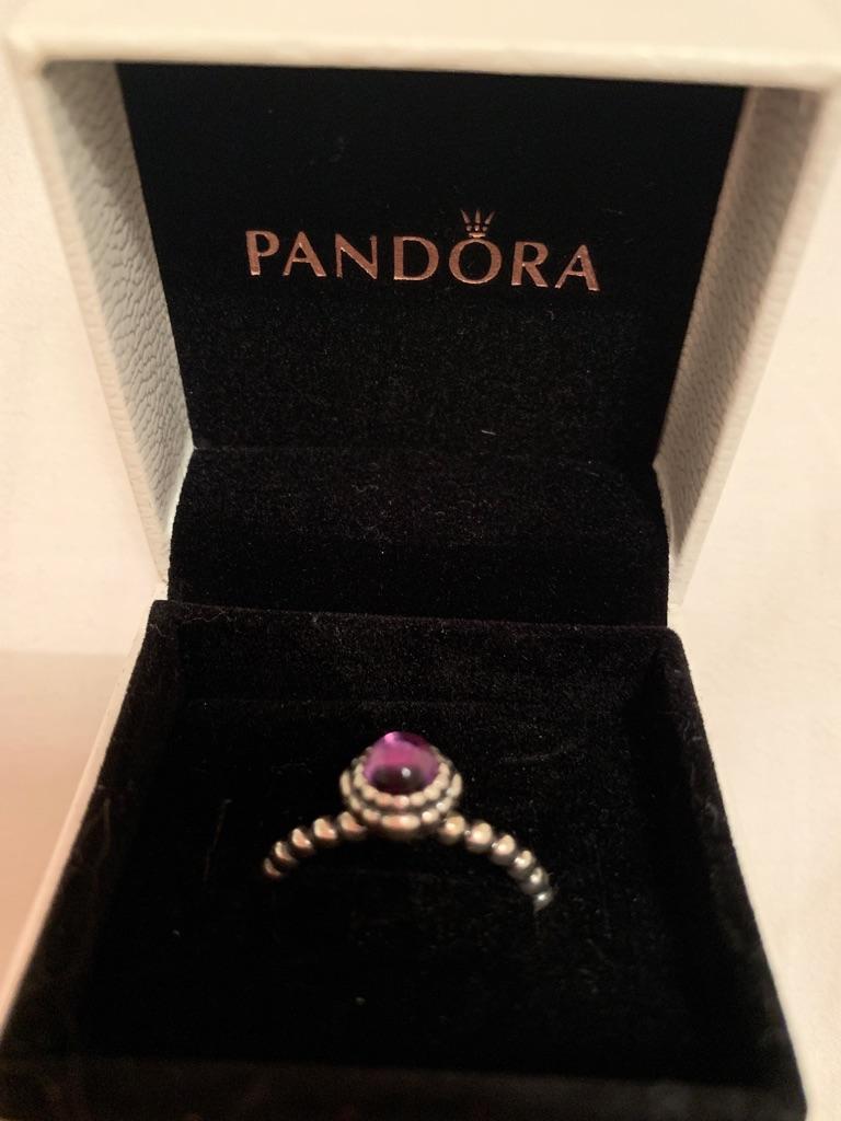 Pandora ring size 58