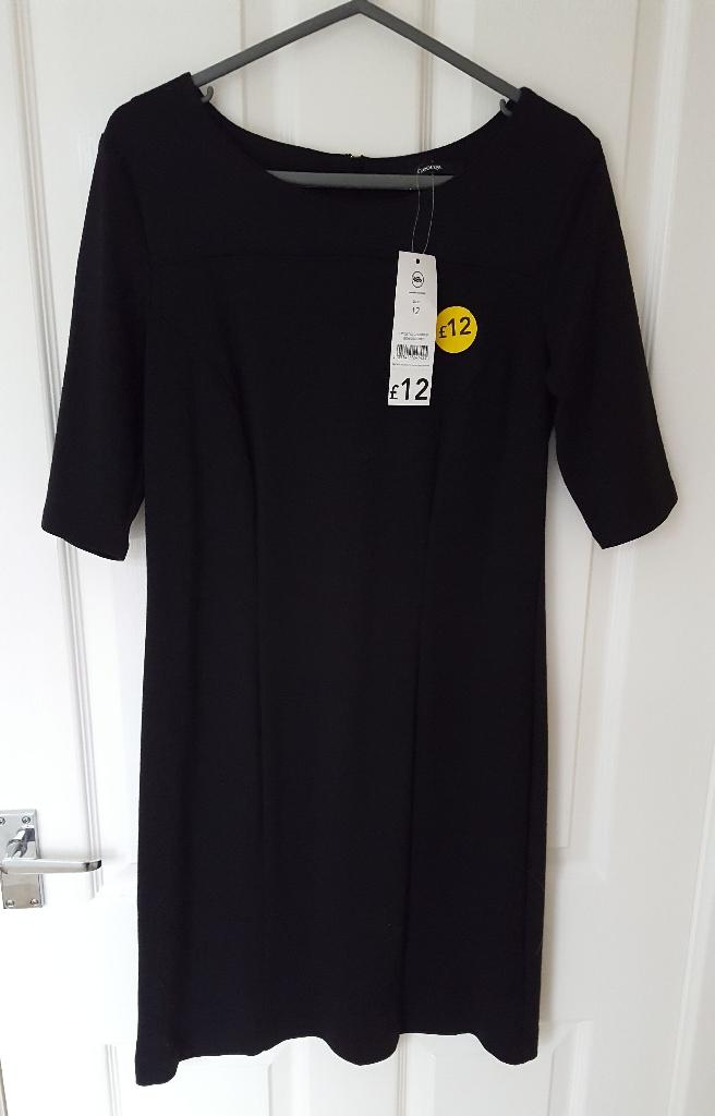 George black stretch dress