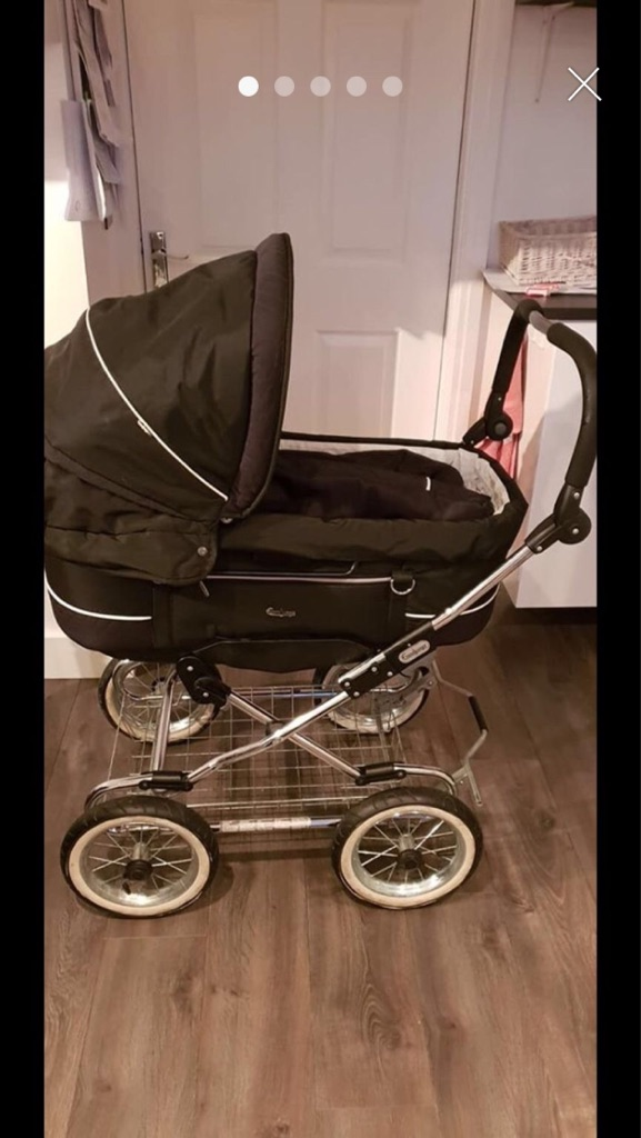 Emaljunga smart combi duo pram