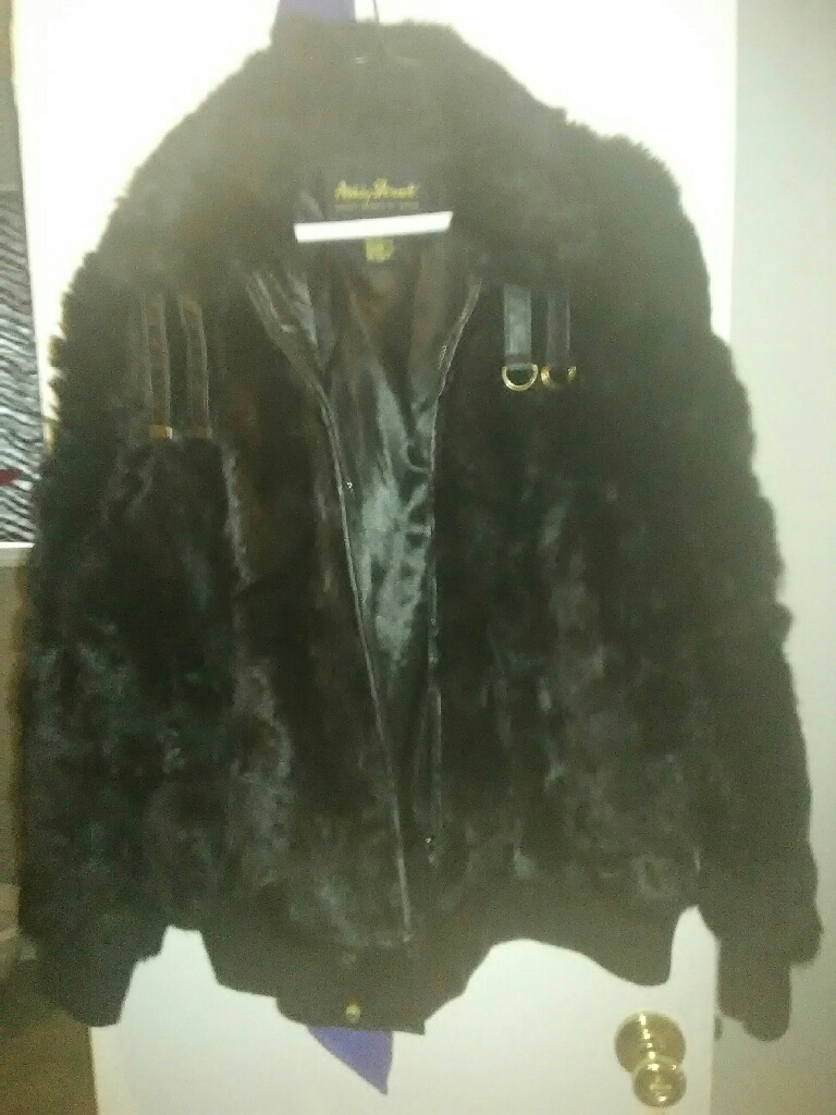 Ashley Stewart fur coat/jacket