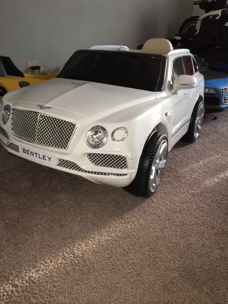 Kids Bentley truck