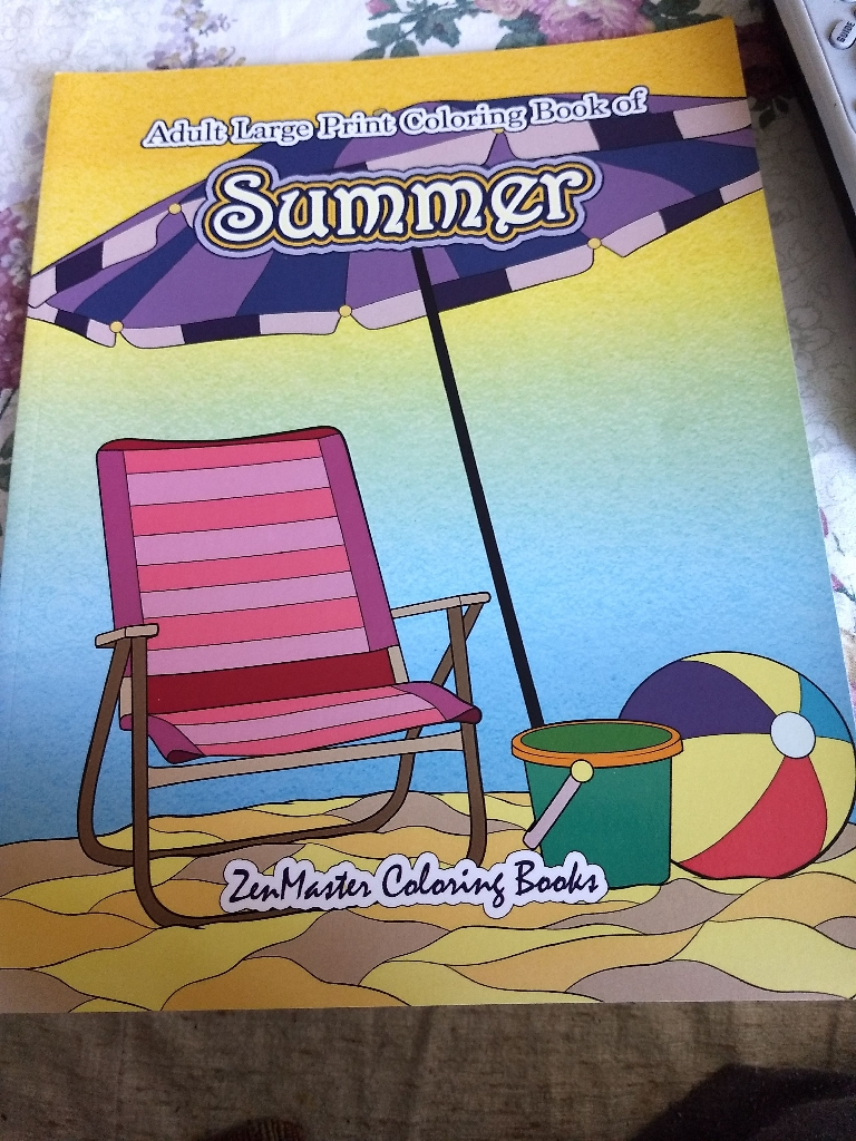 Summer coloring book