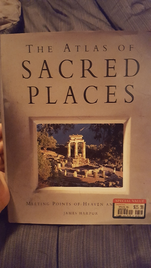 The Atlas of Sacred Places By James Harpur copyright 1993
