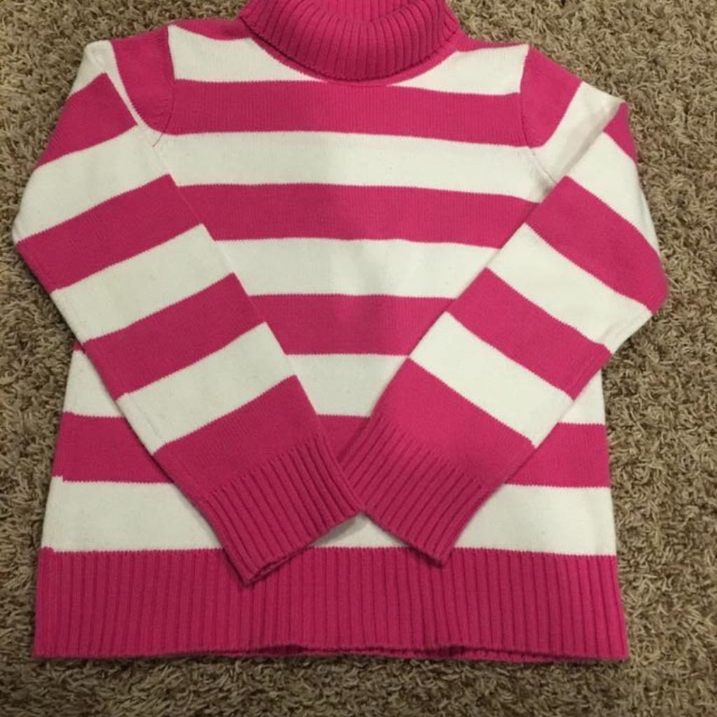 Girl's Gymboree cotton turtleneck sweater