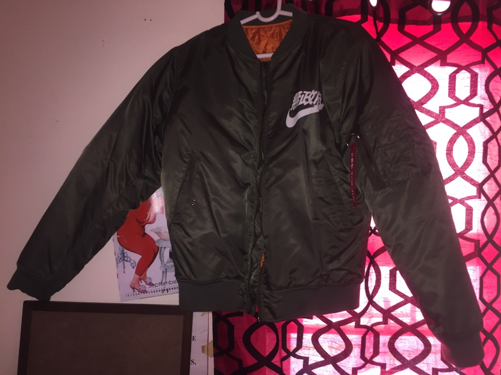 Nike Bomber jacket limited edition - $59