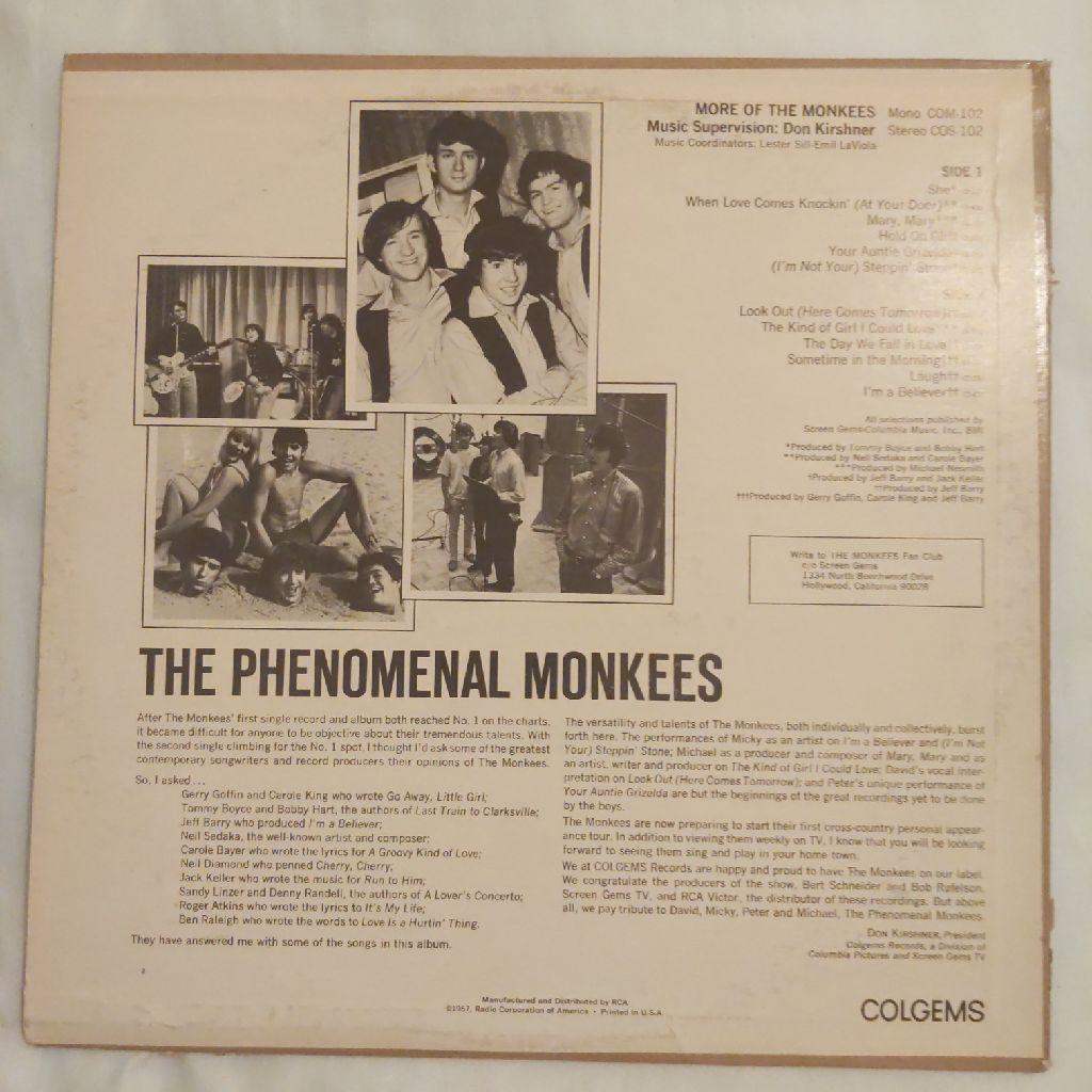 Monkees Record Album