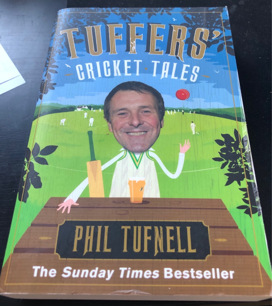TUFFERS CRICKET TALES BOOK