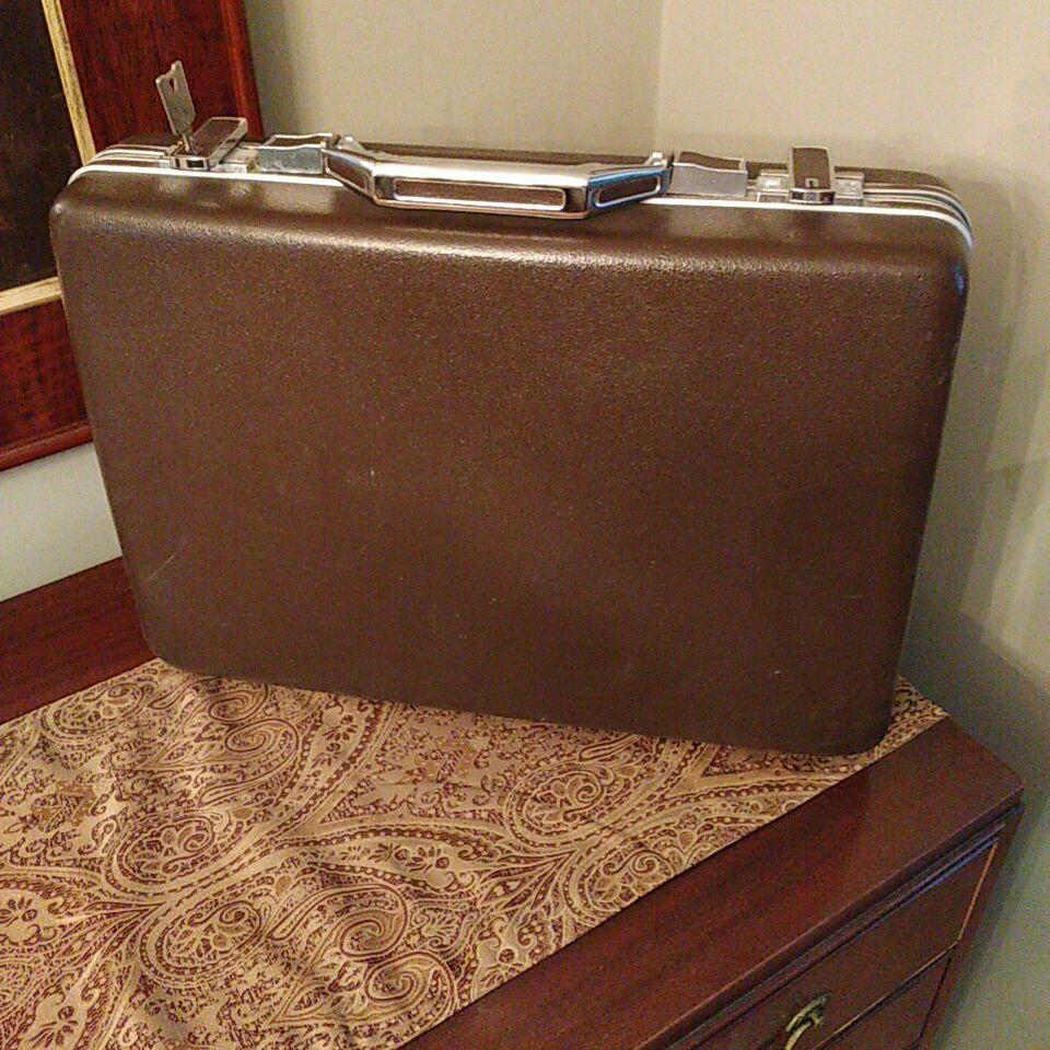 Vintage brief case Am. Tourister