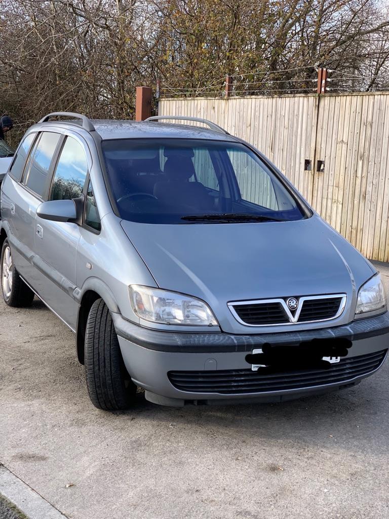 Vauxhall's zafira