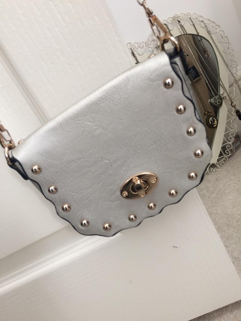 Silver small bag