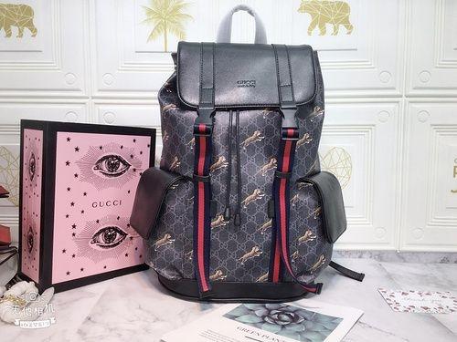 GG Black backpack