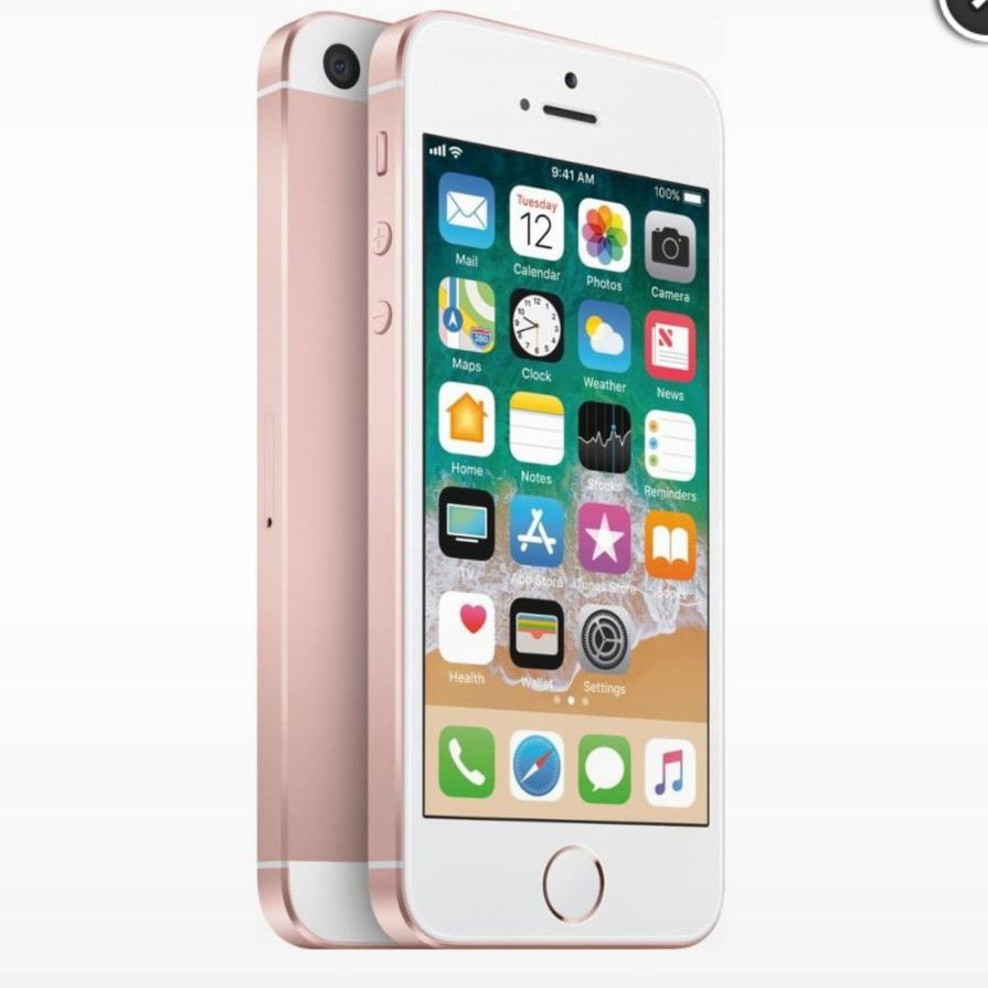 I phone SE 32gb Rose gold (Shipped only) Please message me for the website to order from