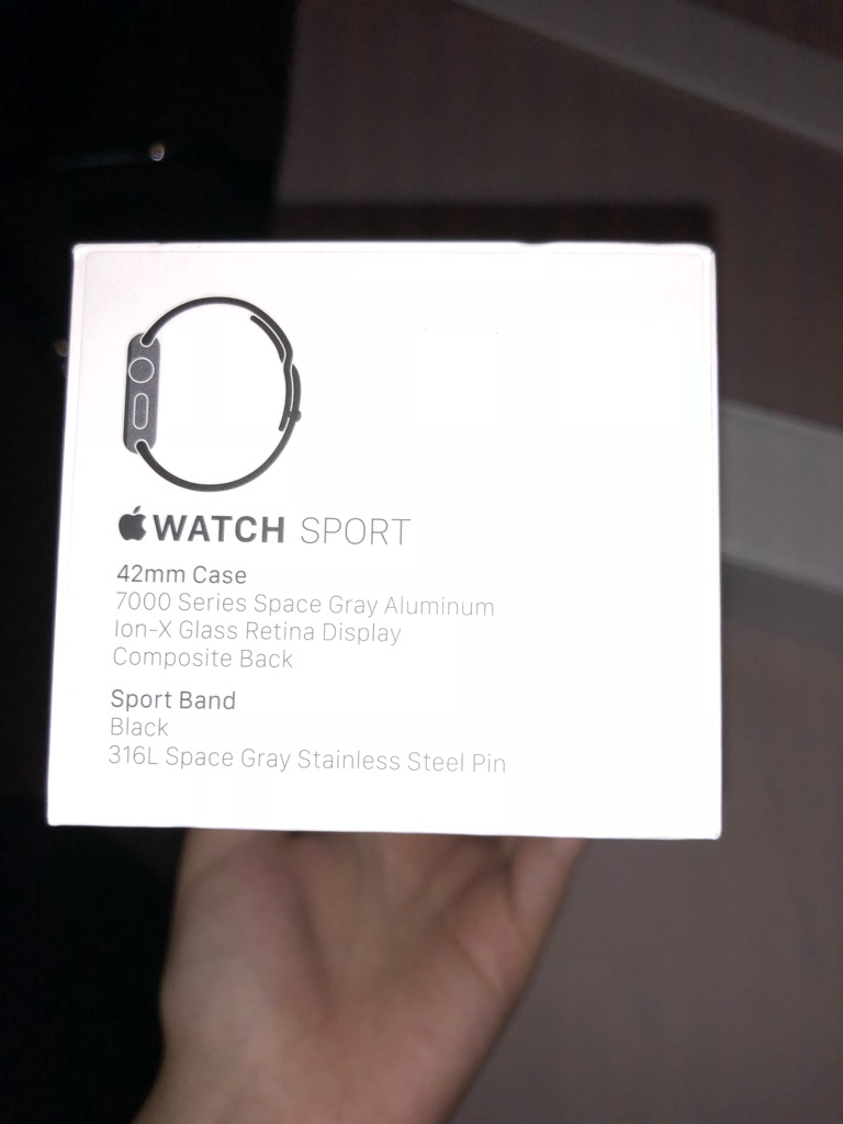 Apple Watch Sports Edition