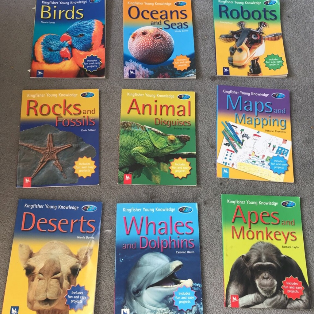Kingfisher children's education books set of 9!