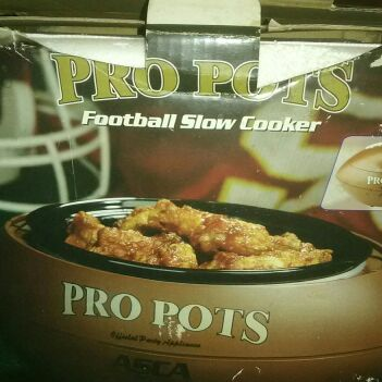 Football slow cooker